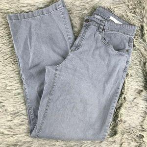 Eileen Fisher Gray Straight Leg Jeans